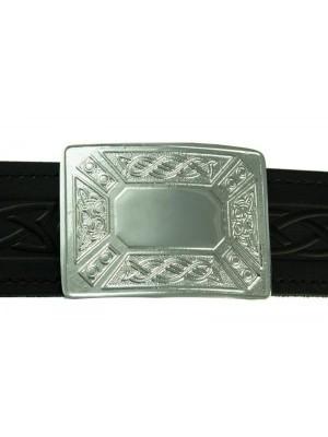 Highland Celtic Knot Buckle for kilt belt