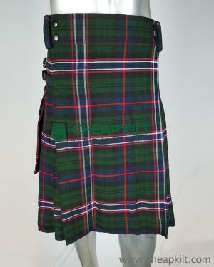Scottish National Tartan Utility Style Tartan Kilt