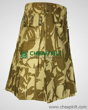 British Military Camo Kilt Custom Made