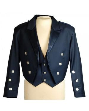 Prince Charlie Blue Kilt Jacket