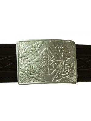 Celtic Knot Buckle for kilt belt