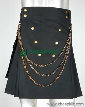 Detachable Pockets Fashion Kilt
