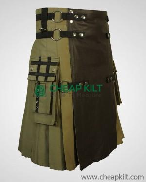 Fashion kilt With Leather Apron