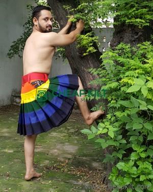 LGB Gay Pride Rainbow kilt