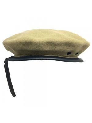 Beanie Glengarry Plain Khaki Hat