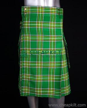 Irish Tartan Utility Style Kilt