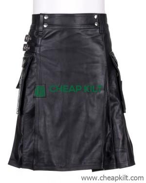 Utility Leather Kilt