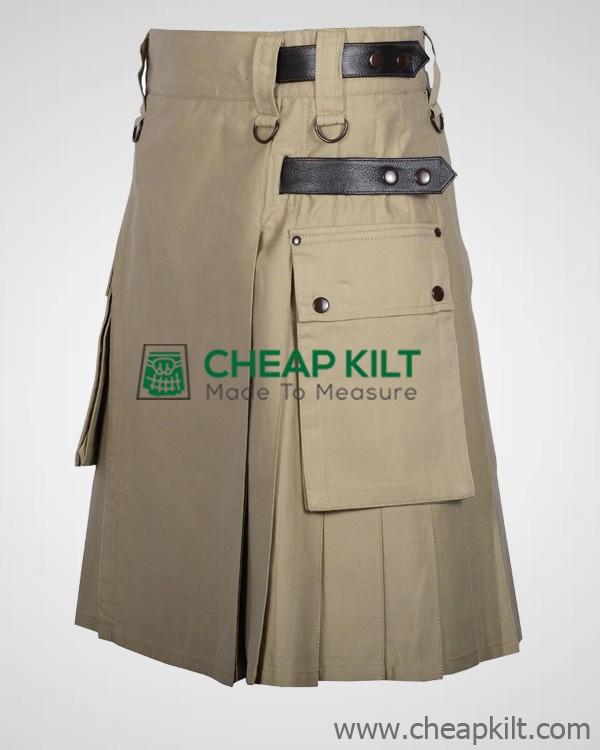 Blue NET Flop Deluxe Utility Kilt Custom Made