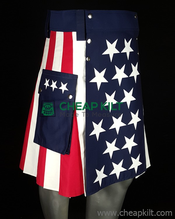 US Flag Fashion Kilt